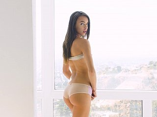 Delightfully dirty young girl